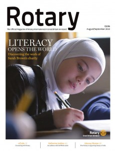 Rotary magazine August-September 2016 cover