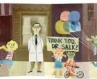 Google Doodle celebrates Dr. Jonas Salk