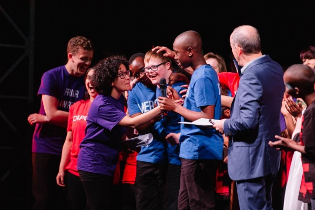 Rotary is proud to partner with Shakespeare Schools Festival