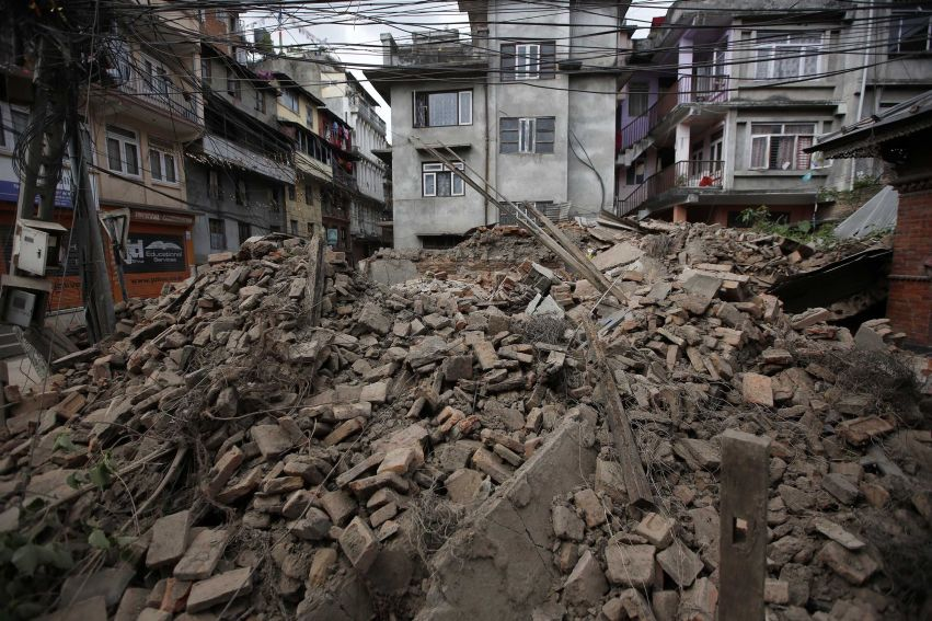 Rotary reaches out to help Nepal earthquake victims