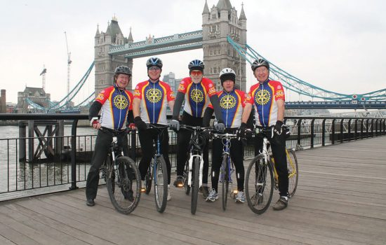 Rotary Ride London Bridge