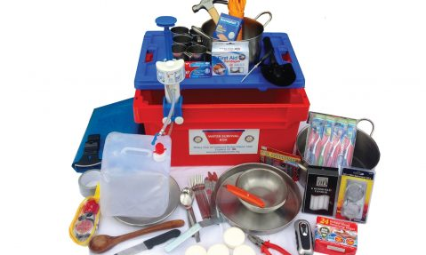 Water Survival Box contents provide international disaster relief