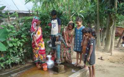 The Rotary Foundation providing clean water Bangladesh