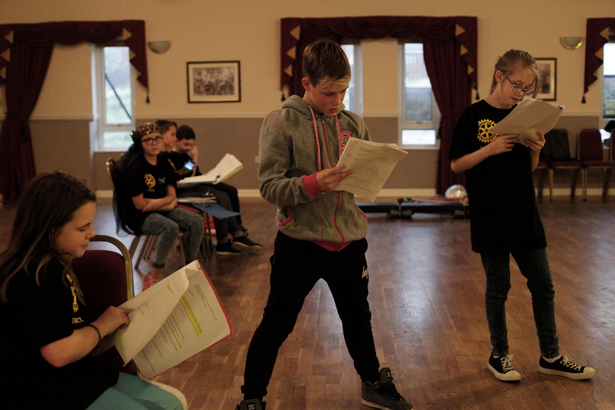 Rotary plays a part in Shakespeare Schools Festival