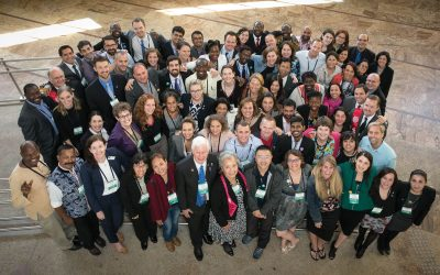 2015 cohort of Rotary Peace Fellows promoting peace