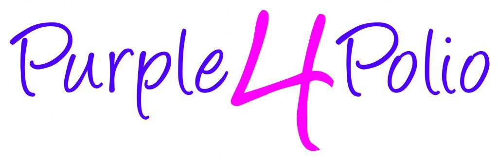 Purple4Polio logo