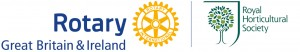 Rotary and RHS Partnership Logo
