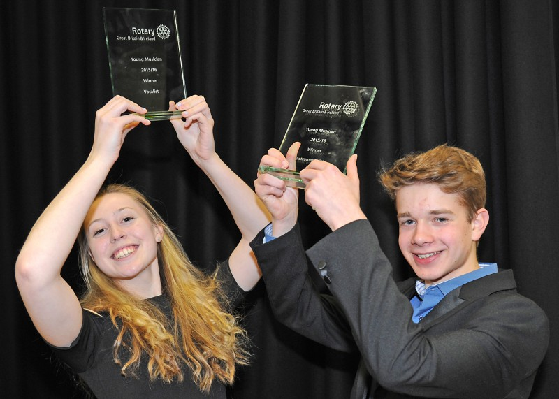 Rotary crowns Young Musicians 2016