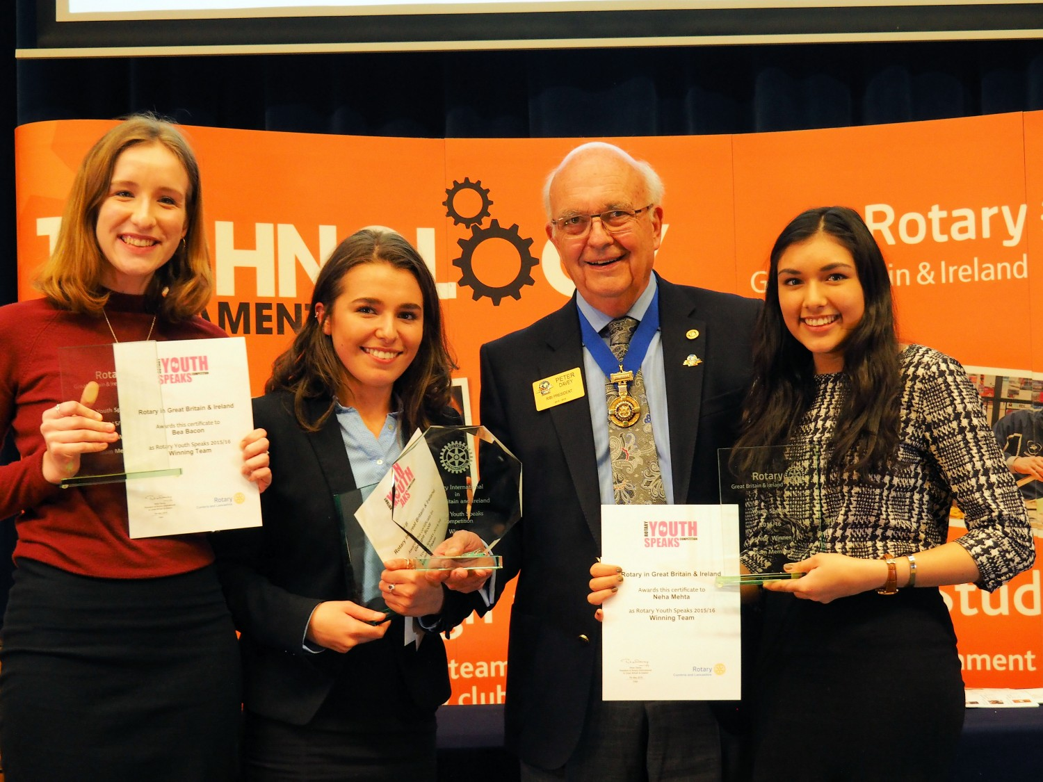 Young speakers put to the test at National Final