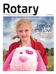 Rotary Magazine April-May Cover