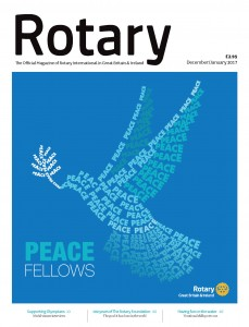 Rotary Magazine December January 2017 Cover
