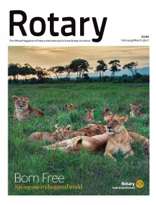 Rotary Magazine February-March 2017 Cover