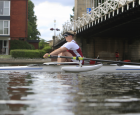 Naomi Thankful for Rotary's Great Thames Row Support