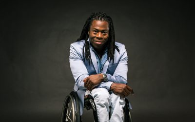 Ade Adepitan polio survivor