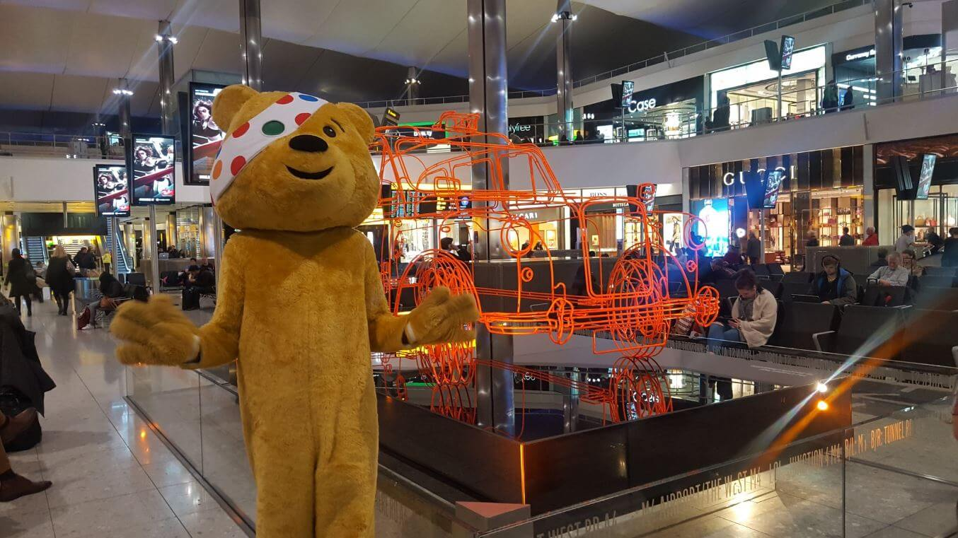 Rotary Flies High at Heathrow for Children In Need – Rotary Good News Week
