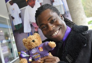 Paralympian, broadcaster and polio survivor Ade Adepitan is helping Rotary's polio eradication by becoming a Purple4Polio Ambassador.