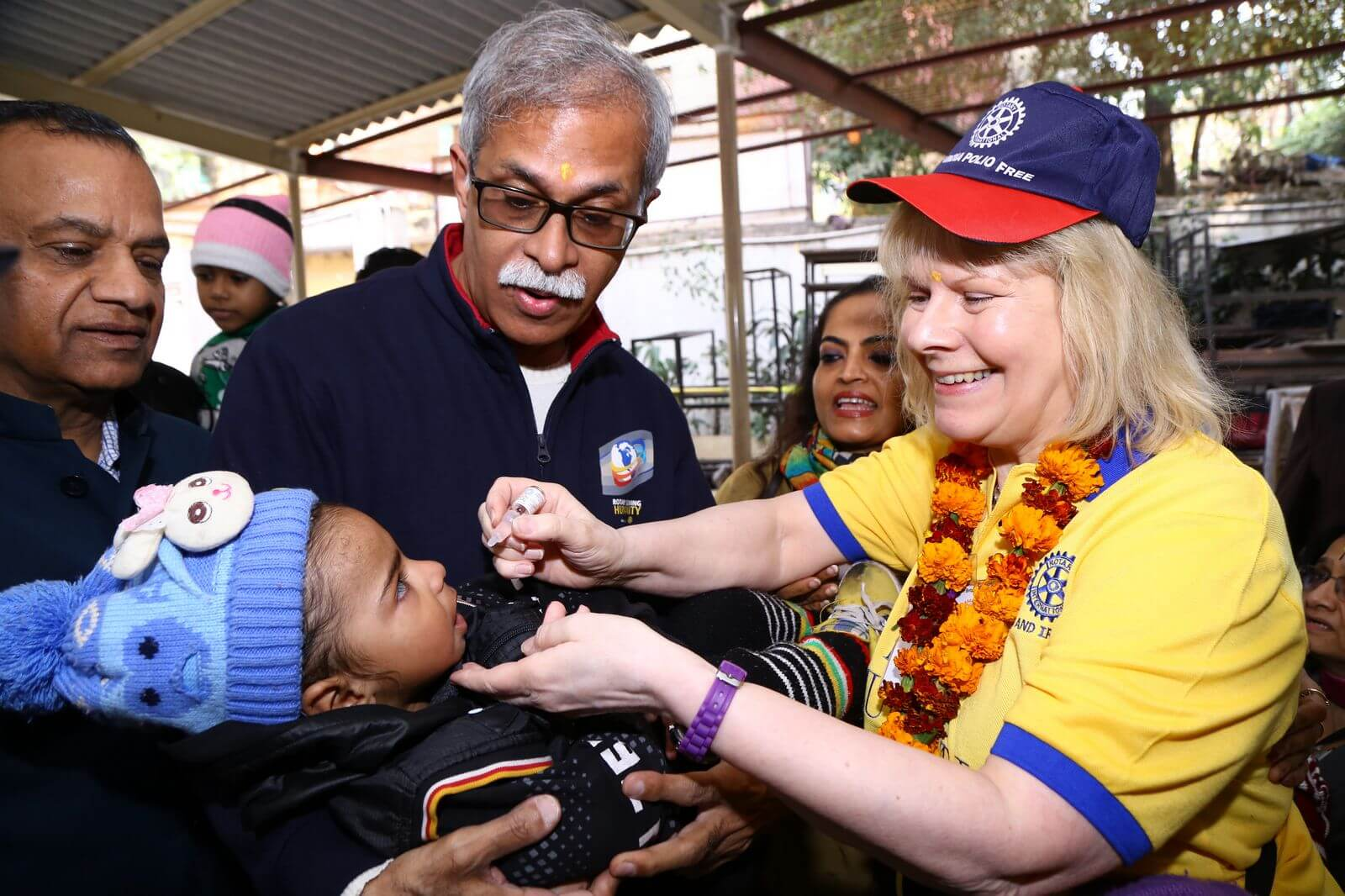 Rotary's Battle Against Polio Given Final Push On International Women's Day