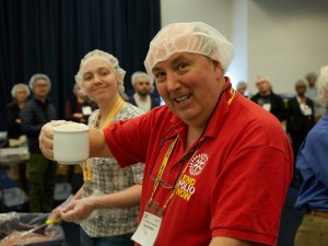 Rotarians rise to the challenge