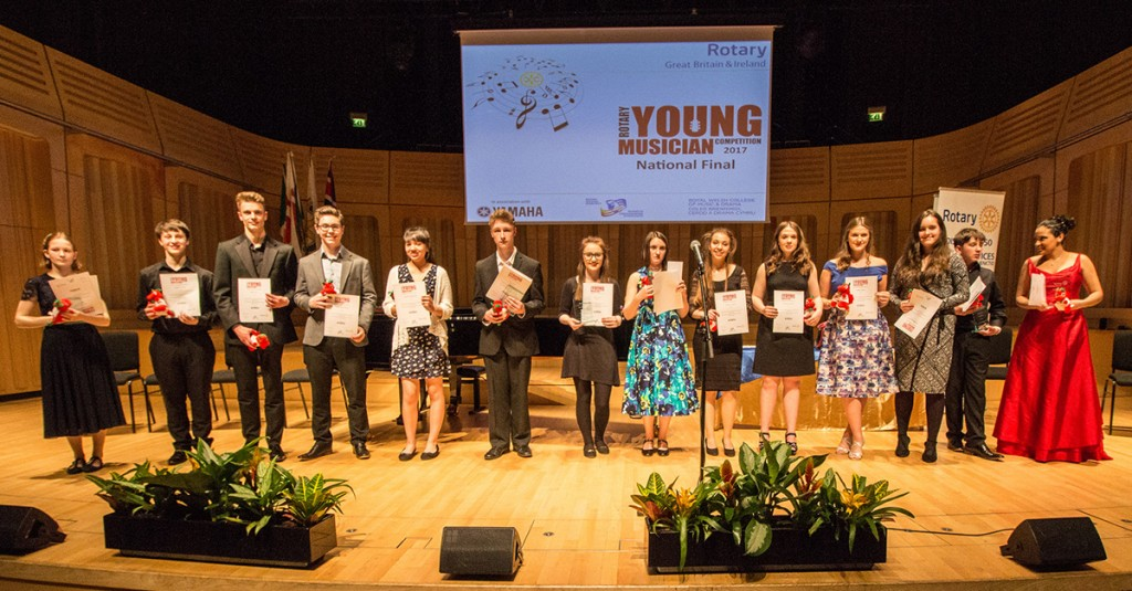 Young Musician 2017 all competitors