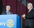 $450 million polio pledge highlight of Rotary Convention