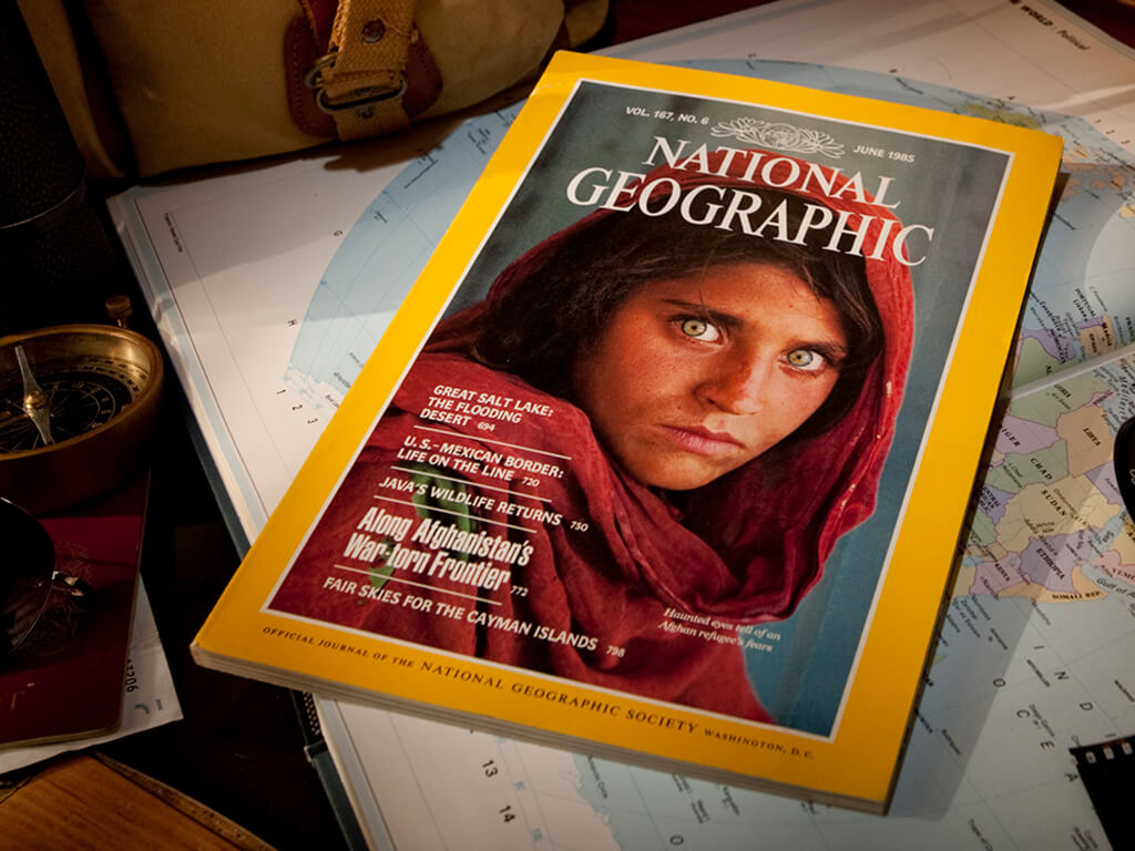 Afghan Girl provokes reflection in Rotary Young Writer