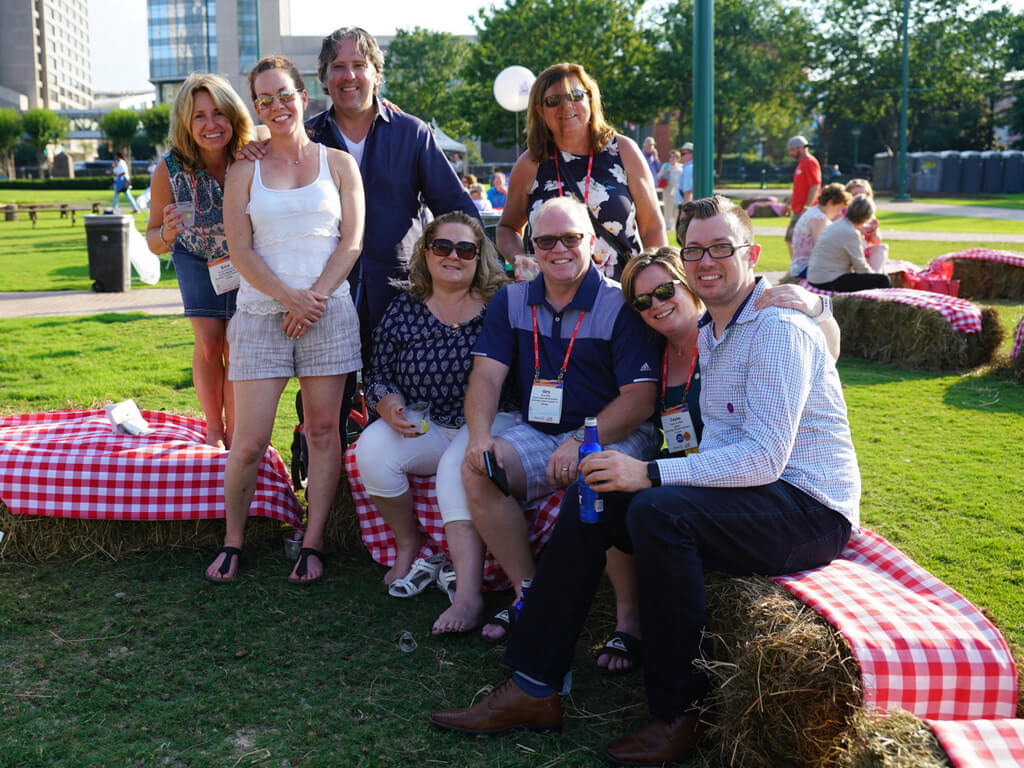 Rotarians mark Great Get Together at Rotary Convention in Atlanta