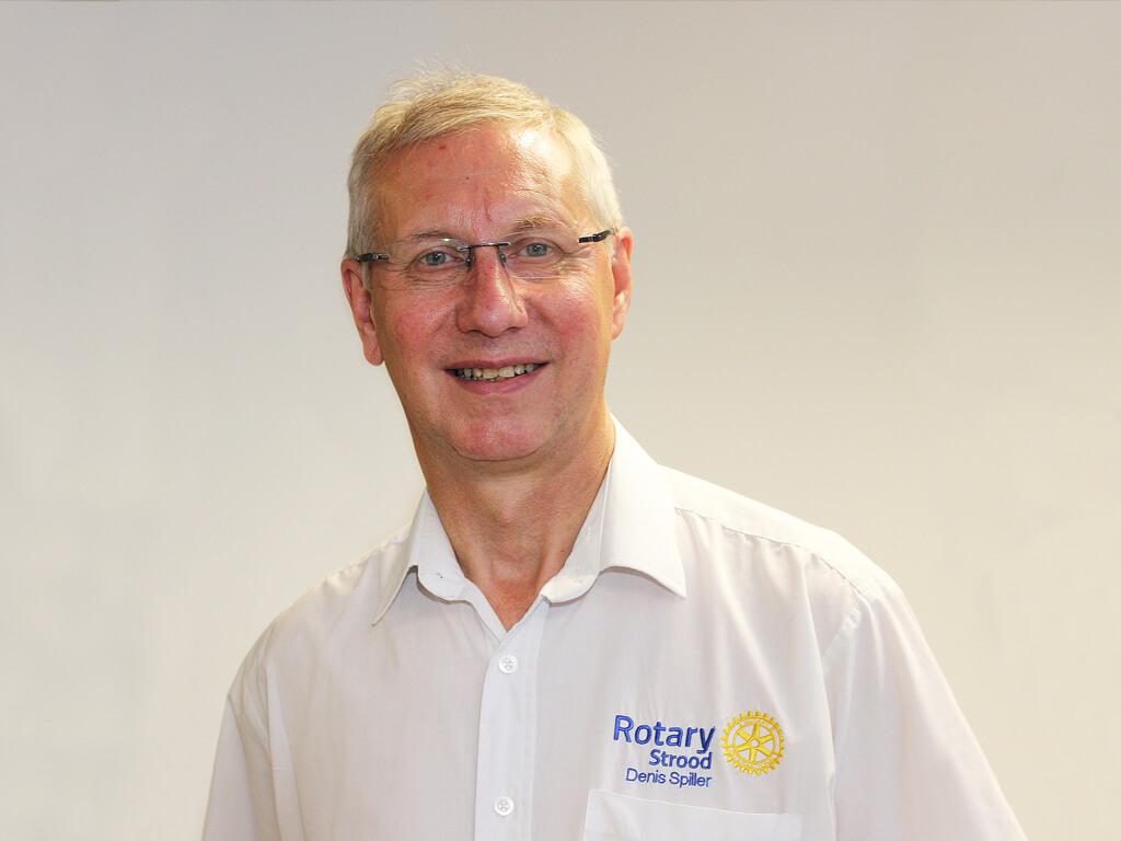 Rotary welcomes Denis Spiller as new President