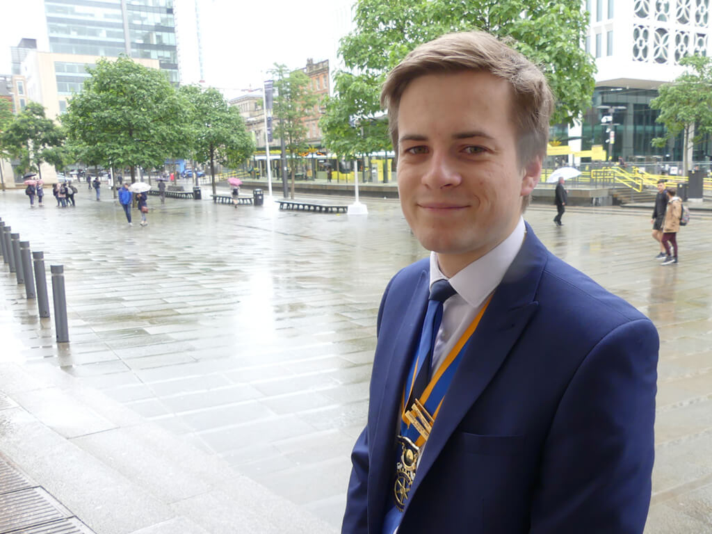 The Changing Face of Rotary – World's Youngest Rotary President?