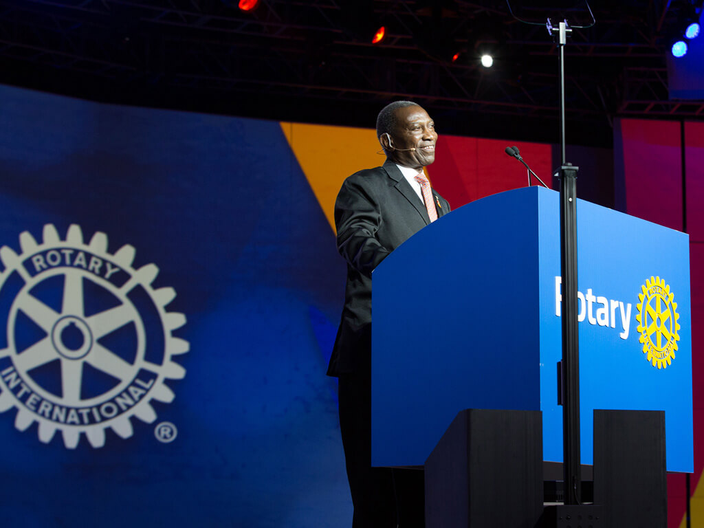 Rotary remembers Sam Owori for his 'quiet confidence,' integrity, and friendship