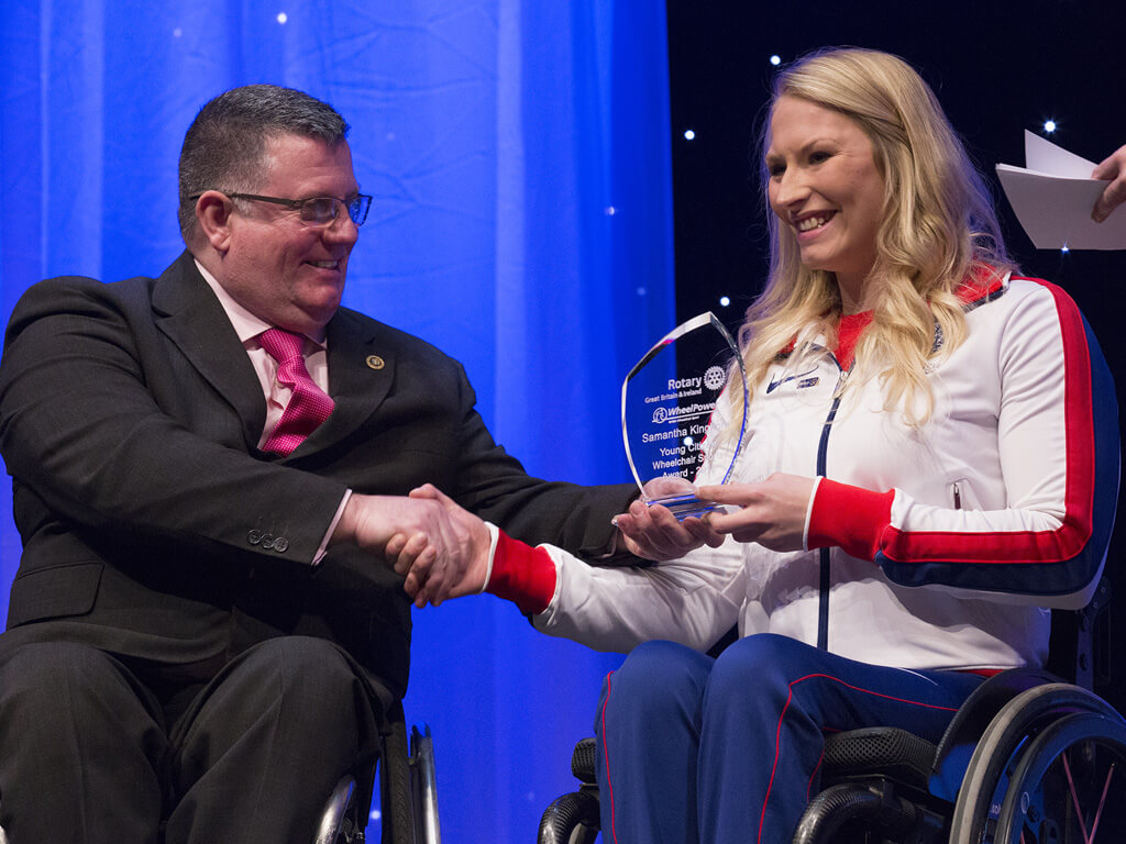 World Para-athletics medal success for Rotary Young Citizens