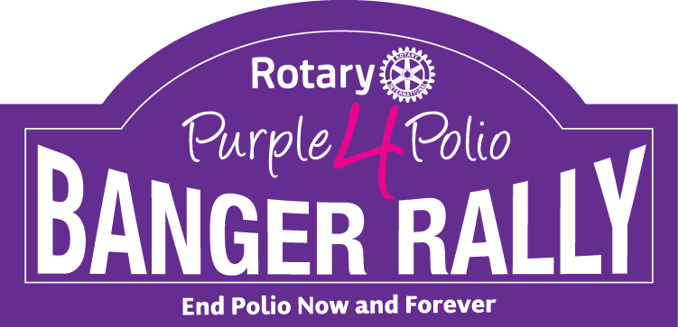 Purple4Polio Banger Rally logo web
