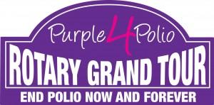 Purple4Polio Rotary Grand Tour Logo