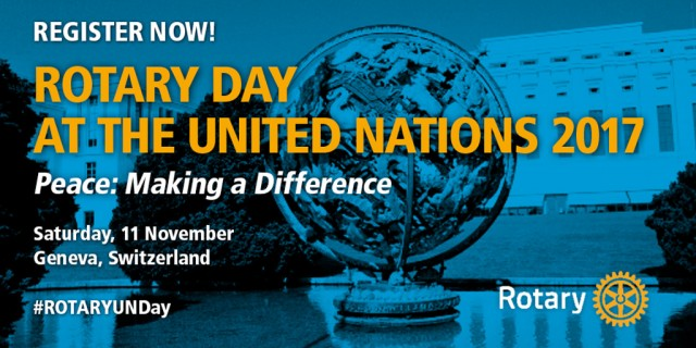 United Nations to mark Rotary Day in Geneva - Twitter