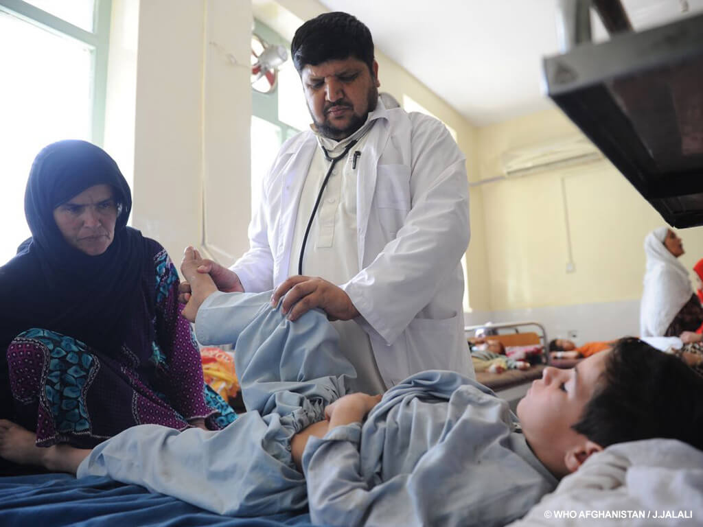Meet the people on the front line of polio eradication_Dr Habibi_Afghanistan