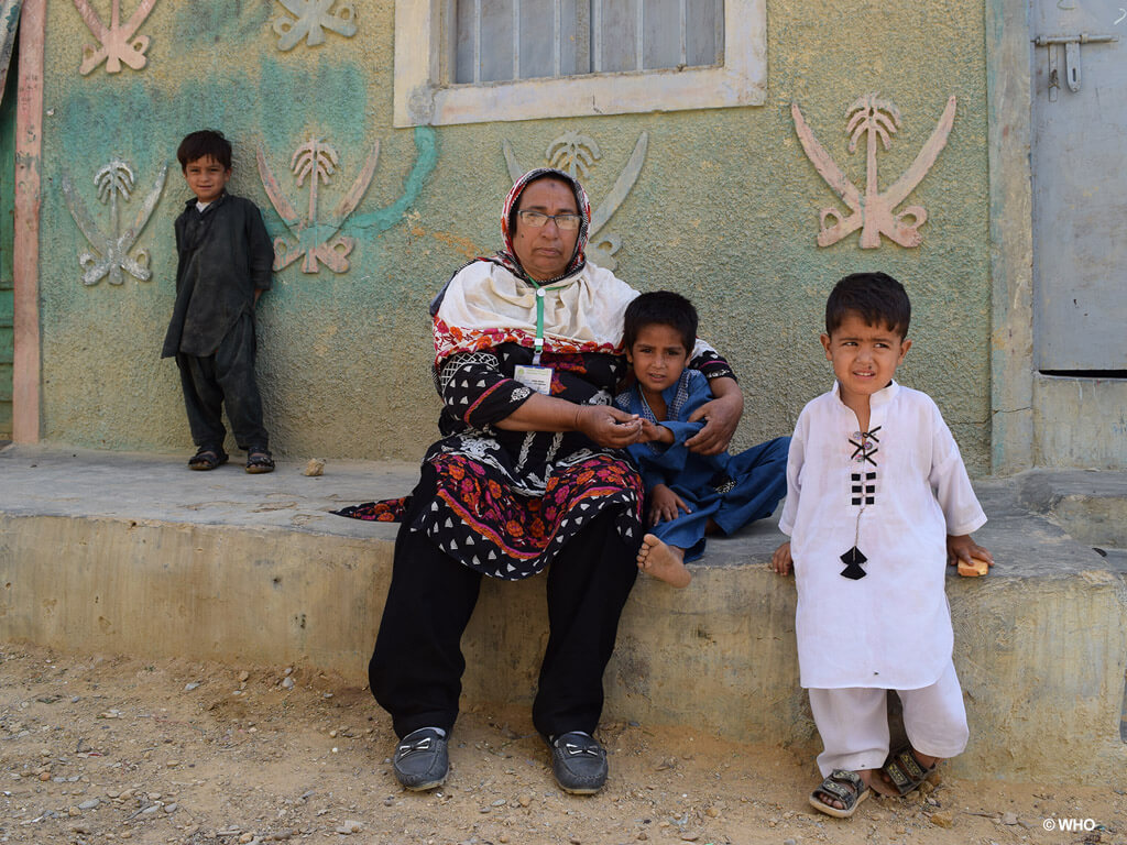 Meet the people on the front line of polio eradication_Khalida_Pakistan