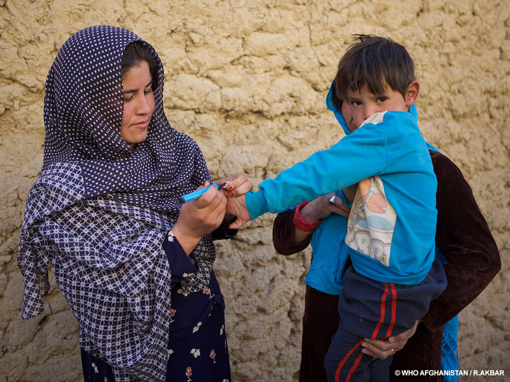 Meet the people on the front line of polio eradication_Sakina_Afghanistan