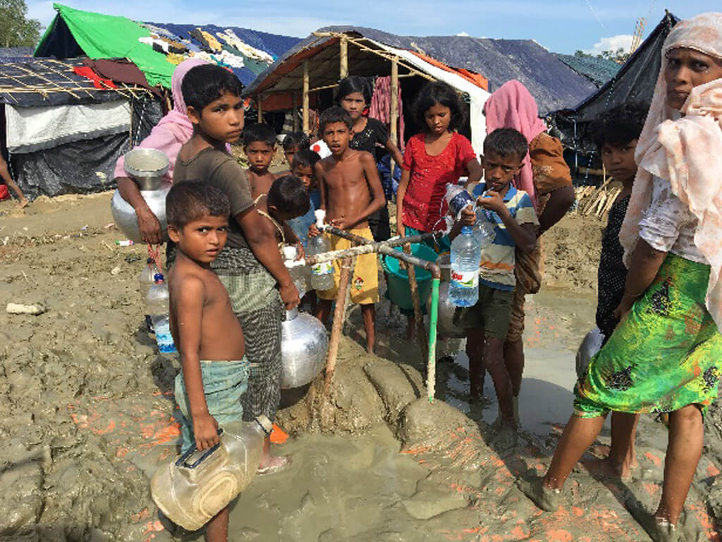 Rotarians and ShelterBox on the ground following Rohingya crisis