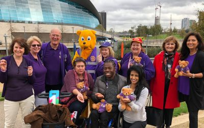 world polio day celebrations with paralympian ade