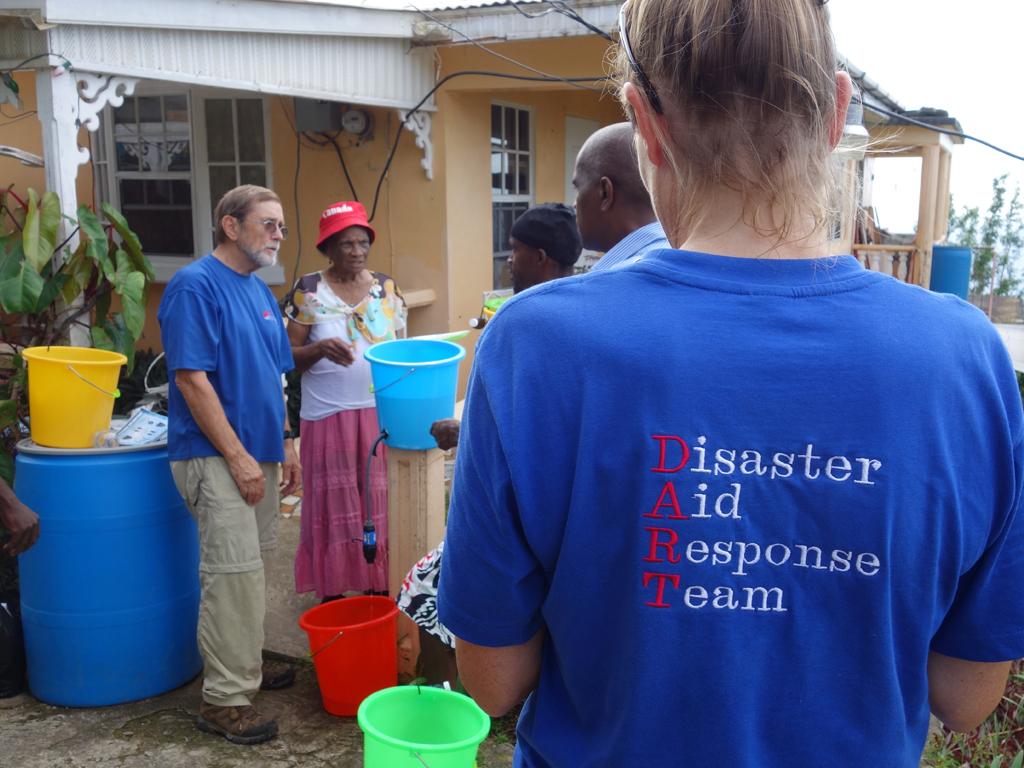 Broken Garden of Eden_Disaster Aid Response Team member