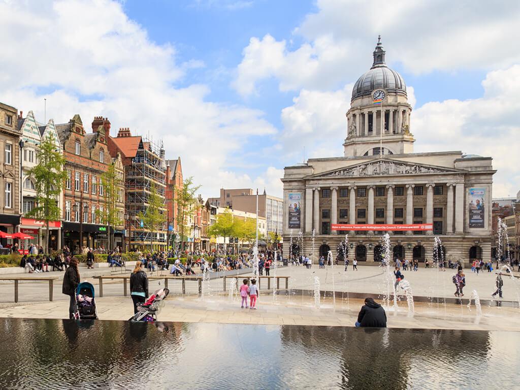 Nottingham Market Square_Rotary Showcase 2019