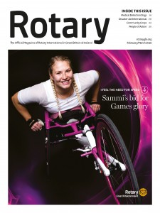 Rotary Magazine_February-March_Cover