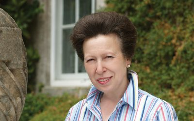 hrh the princess royal princess anne smiling