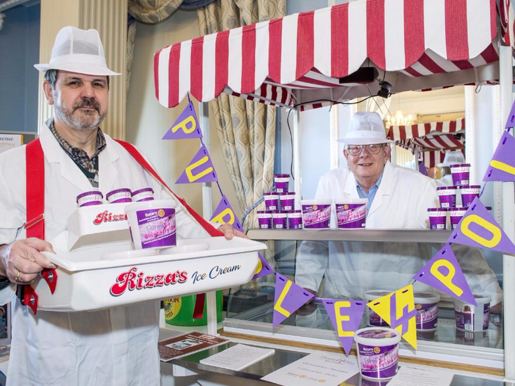 Fancy a purple ice cream?