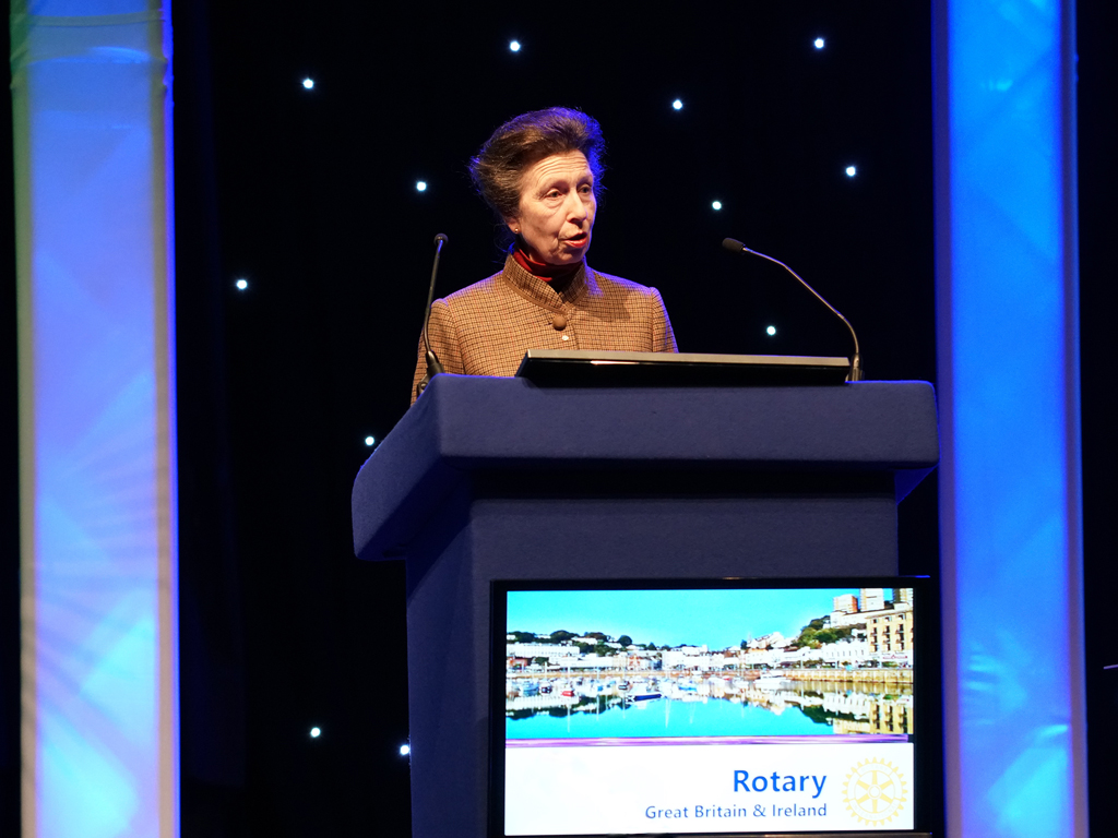 "Princess Royal: ""Rotary is for communities everywhere"""