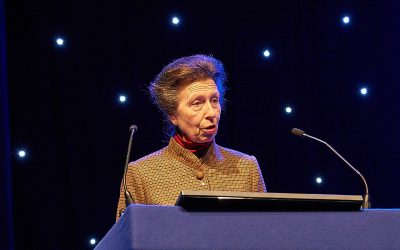 princess anne at rotary in great britain and ireland conference