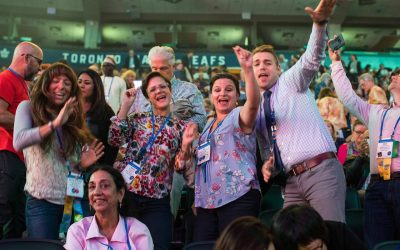 Rotary members attend rotary convention