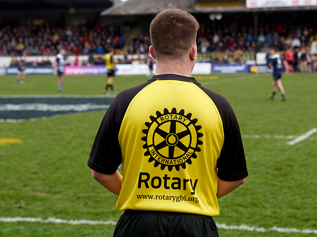 Rotary winning from Melrose Sevens