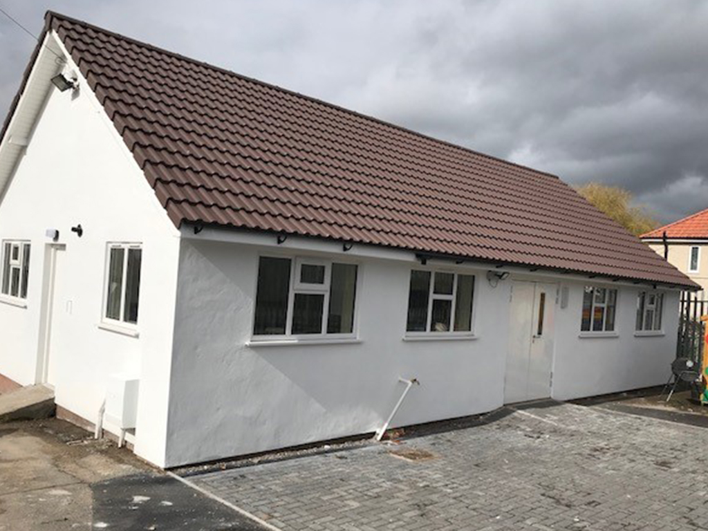 Bristol Rotary celebrates centenary by revamping community centre in deprived part of the city