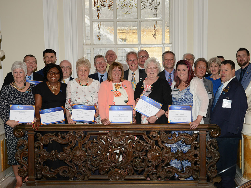 Rotary Champions of Change receive awards at Cardiff Ceremony