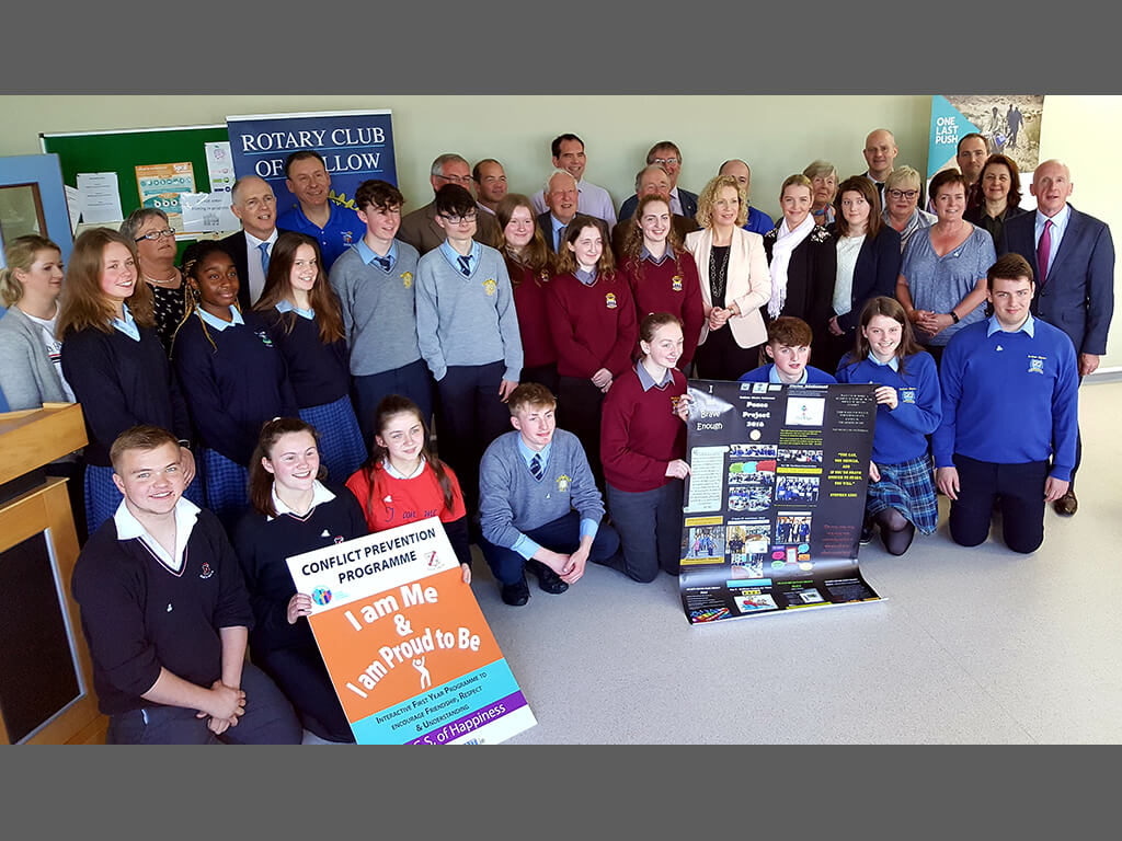 Mallow schools participate in Rotary Peace Advocacy Project